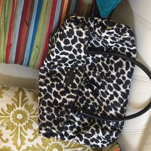 Beautiful Kate Spade Leopard slouch bag!